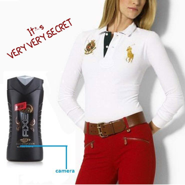 Spy Hidden Secret Shampoo Bottel Camera